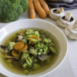 Vegetable soup with miso